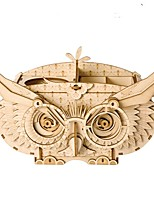 cheap -Wooden Puzzle / Logic & Puzzle Toy Owl Owl Stress and Anxiety Relief / Office Desk Toys / Relieves ADD, ADHD, Anxiety, Autism Wooden / Wood-Plastic Composite 1 pcs Teen / Children's All Gift