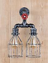 economico -Nuovo design Antico Lampade da parete Salotto Metallo Luce a muro 220-240V 40 W