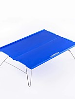 cheap -Naturehike Camping Table Outdoor Lightweight, Back Country, Mountaineering 211# Stainless Steel, Aluminium Alloy for Hiking / Beach / Camping - 1 Dark Blue / Coffee