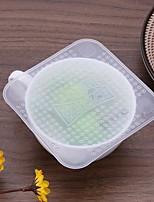Недорогие -Кухонная организация Хранение продуктов питания силиконовый Творческая кухня Гаджет / Прост в применении 4шт