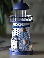 Недорогие -Европейский стиль Железо Подсвечники Канделябр 1шт, Свеча / подсвечник