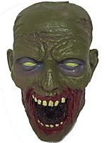 Недорогие -Праздничные украшения Украшения для Хэллоуина Маски на Хэллоуин / Хэллоуин Развлекательный Декоративная / Cool Зеленый 1шт
