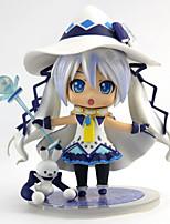 baratos -Figuras de Ação Anime Inspirado por Vocaloid Neve Miku 2018 PVC 11 cm CM modelo Brinquedos Boneca de Brinquedo