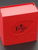 abordables -Espace de rangement Organisation Collection de bijoux Plastique Forme de rectangle Créatif