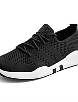 cheap -Men's Light Soles Knit / Mesh Summer Comfort Sneakers White / Black / Gray