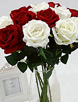 cheap -Artificial Flowers 1 Branch Classic / Single Wedding / Wedding Flowers Roses Tabletop Flower