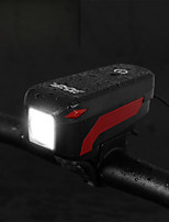 cheap -Bike Horn Light LED Cycling Waterproof, Portable 350 lm Camping / Hiking / Caving