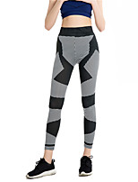 cheap -Latin Dance Leggings / Tights Women's Training / Performance Elastic / Charmeuse Pattern / Print / Gore High Pants