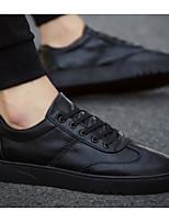 Недорогие -Муж. Комфортная обувь Полиуретан Весна & осень На каждый день Кеды Черный