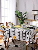economico -Moderno Poliestere elastico lavorato a maglia 100g / m2 / Non tessuto Quadrato Tovaglie Fantasia geometrica Decorazioni da tavola 1 pcs