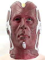 cheap -Holiday Decorations Halloween Decorations Halloween Masks / Halloween Entertaining Decorative / Cool Dark Red 1pc