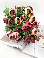 Недорогие -Искусственные Цветы 1 Филиал Классический Деревня / европейский Хризантема Букеты на стол