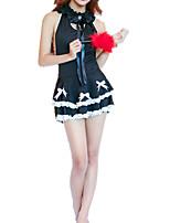 cheap -Women's Suits Nightwear - Mesh, Color Block