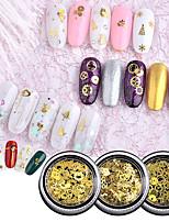 economico -1 / box Disegni alla moda / Luminoso MOON Stella manicure Manicure pedicure Materiale misto / Lega Glitters / Retrò Ricevimento di matrimonio / Da tutti i giorni