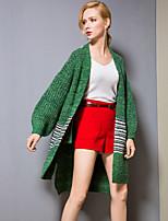 cheap -8CFAMILY Women's Basic Cardigan - Color Block