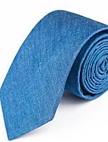 cheap -Men's Basic Necktie - Solid Colored