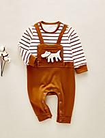 Недорогие -малыш Девочки Однотонный Длинный рукав 1 предмет