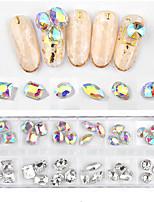 Недорогие -36 pcs Стразы для ногтей Универсальный Креатив маникюр Маникюр педикюр Повседневные Стиль