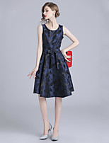 cheap -Women's Elegant A Line Dress Lace up