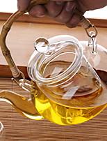 Недорогие -стекло Heatproof / Чайный нерегулярный 1шт чайник