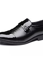 cheap -Men's Formal Shoes Synthetics Fall Loafers & Slip-Ons Black