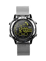 cheap -Smartwatch EX28A for Android iOS Bluetooth Waterproof Long Standby Exercise Record Distance Tracking Information Stopwatch Pedometer Call Reminder Sedentary Reminder / Alarm Clock / Camera Control