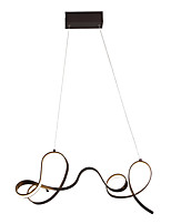 cheap -Linear Chandelier Ambient Light - Adjustable, 110-120V / 220-240V, Warm White / Cold White, LED Light Source Included