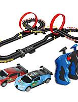 abordables -Coches de juguete Coche de carreras Coche de carreras Nivel profesional / Simulación / Interacción padre-hijo Plástico y metal / ABS + PC Todo Niños Regalo 1 pcs