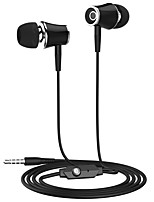 cheap -langsdom LSDM21 In Ear Cable Headphones Earphone / / Plastic Shell / Poly Mobile Phone Earphone with Microphone / Ergonomic Comfort-Fit / Comfy Headset