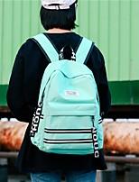 Недорогие -Универсальные Мешки холст рюкзак Молнии Белый / Черный / Розовый
