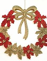 baratos -Enfeites de Natal Férias PVC Redonda Novidades Decoração de Natal