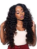 cheap -6 Bundles Indian Hair / African Braids Deep Wave Unprocessed Human Hair / Human Hair Gifts / Cosplay Suits / Natural Color Hair Weaves / Hair Bulk 8-28 inch Natural Color Human Hair Weaves Women