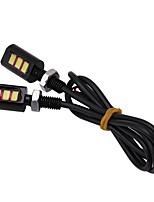 Недорогие -2pcs Мотоцикл / Автомобиль Лампы 3 W SMD 5630 3 Светодиодная лампа Лампа поворотного сигнала / Мотоцикл Назначение