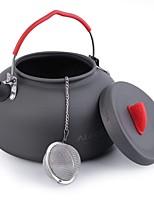 Недорогие -1 ALOCS Походный чайник Походный чайник для кофе На открытом воздухе Легкость Зимние виды спорта Катание вне трассы Нержавеющая сталь Алюминиевый сплав Алюминий на открытом воздухе за