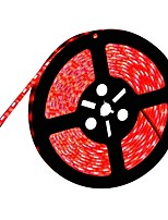 Недорогие -HKV 5 метров Гибкие светодиодные ленты 300 светодиоды 5050 SMD Красный / Желтый / Зеленый Можно резать / Компонуемый / Самоклеющиеся 12 V