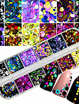 cheap -1 Piece Adorable / Colorful Creative nail art Manicure Pedicure Mixed Material Punk / Doll's Lolita Wedding Party / Daily Wear