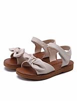 cheap -Girls' Shoes PU(Polyurethane) Summer Comfort / Flower Girl Shoes Sandals for Black / Beige