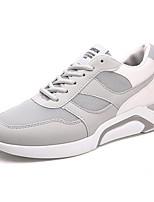 Недорогие -Муж. Комфортная обувь Сетка Весна Кеды Черный / Серый / Красный