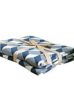 Недорогие -Супер мягкий, Активный краситель Полоски / В клетку Хлопок одеяла