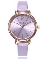 cheap -Women's Wrist Watch Chinese New Design / Casual Watch / Imitation Diamond PU Band Casual / Fashion Black / White / Silver