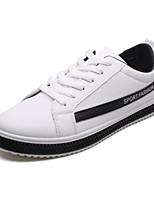 Недорогие -Муж. Комфортная обувь Полотно Весна Кеды Черный / Серый / Красный