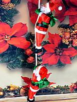 Недорогие -Рождественский декор / Рождественские украшения Праздник Хлопковая ткань Квадратный Оригинальные Рождественские украшения