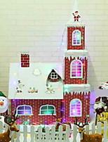 baratos -Natal / Enfeites de Natal Férias Plástico Novidades Decoração de Natal