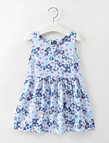 cheap -Kids / Toddler Girls' Daisy Floral Sleeveless Dress