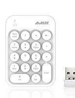 cheap -AJAZZ AK18 2.4G Keyboards 18 pcs Computer Accessory Portable / Adorable AAA powered