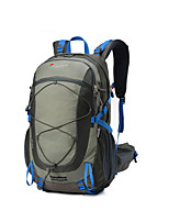 Недорогие -40 L Заплечный рюкзак - Молния YKK На открытом воздухе Пешеходный туризм Нейлон Синий, Серый, Камуфляжный