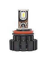 Недорогие -Factory OEM 2pcs H9 / H11 / H8 Автомобиль Лампы 50 W SMD LED 6800 lm 2 Светодиодная лампа Налобный фонарь Назначение Универсальный / Volvo / Volkswagen Все модели Универсальный