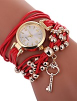 cheap -Women's Bracelet Watch Chinese New Design / Casual Watch PU Band Casual / Fashion Black / White / Blue