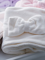 abordables -Qualité supérieure Serviette de bain, Couleur Pleine / Géométrique Polyester / Coton Salle de  Bain 1 pcs