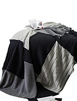 baratos -Super Suave, Impressão Reactiva Sólido / Xadrez Algodão cobertores